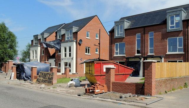 New social housing, Sydenham, Belfast (5)