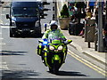 H4572 : Police motor cycle, Omagh by Kenneth  Allen