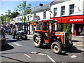 H4572 : Vintage tractors, Omagh by Kenneth  Allen