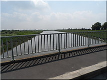 TF5902 : River Great Ouse from Downham Bridge by Bikeboy