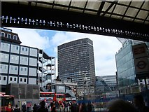 TQ2879 : View of Portland House, Bressenden Place  from Victoria Station by Robert Lamb