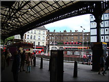 TQ2879 : View of Pacha and The Shakespeare Pub from Victoria Station by Robert Lamb