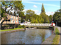 SE0742 : Leeds and Liverpool Canal, Granby Bridge (#197A) by David Dixon