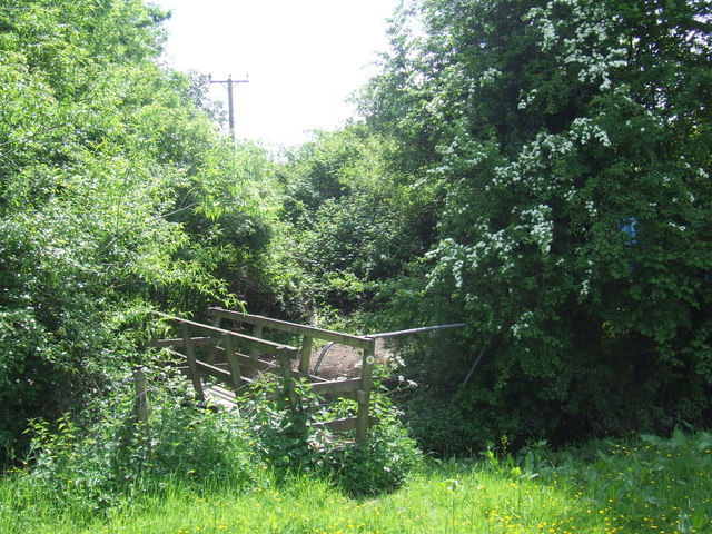 Footbridge near Denham
