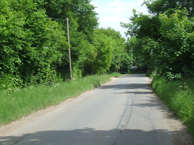 Sevenhills Road near Iver Heath