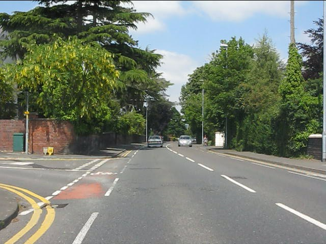 Franche Road (A442) at Broomfield Road