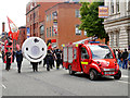 SJ8397 : Manchester Day on Deansgate, GMFRS by David Dixon
