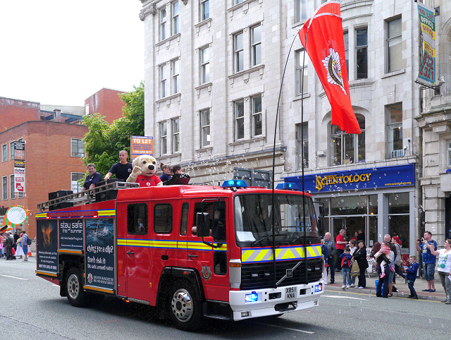 Fire Engine on Deansgate