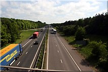 TL4259 : M11 motorway by Graham Hogg