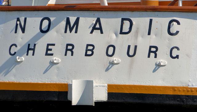 "The SS ""Nomadic"", Belfast (2013-4)"