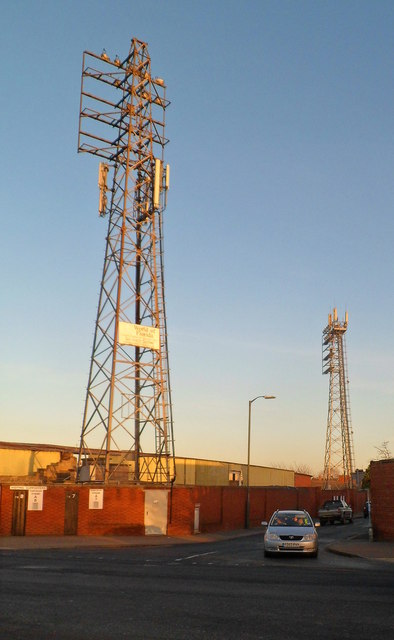 Blackfriars Street floodlights, Hereford