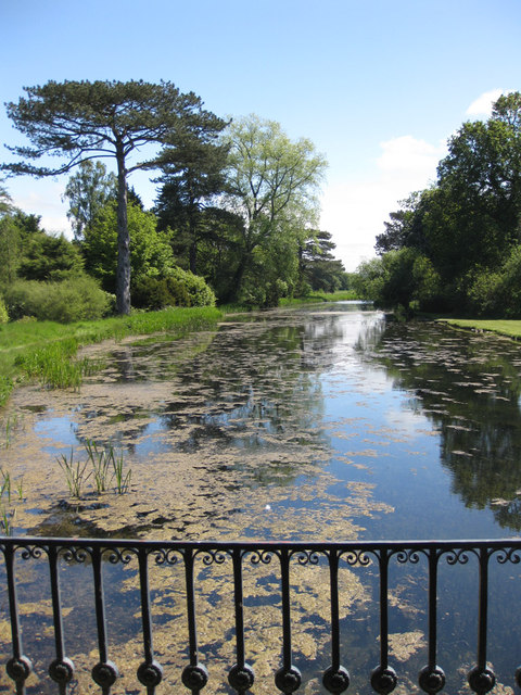 Lower Lake, Scampston Hall