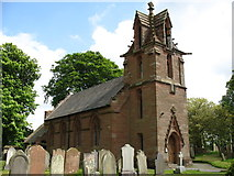 NY4459 : St John the Baptist church, Crosby-on-Eden by David Purchase