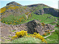 NT2772 : Arthur's Seat from Salisbury Crags by Anne Burgess
