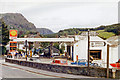 SD3097 : Petrol station at Coniston, 1986 by Ben Brooksbank