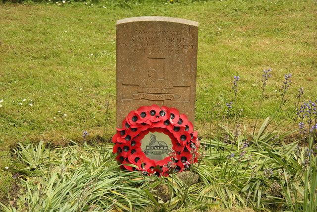 Richard Woodforth headstone