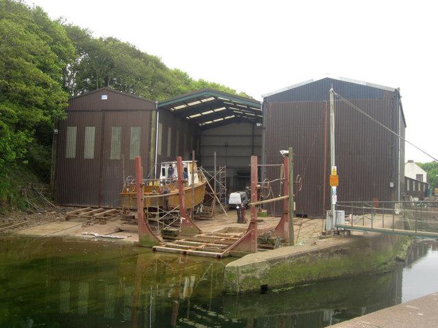 Boatyard, Eyemouth Harbour