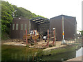 NT9464 : Boatyard, Eyemouth Harbour by Graham Robson