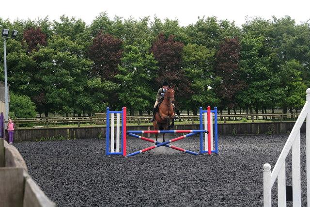 Riding Club Horse Trials at R.A.F. Cranwell Saddle Club