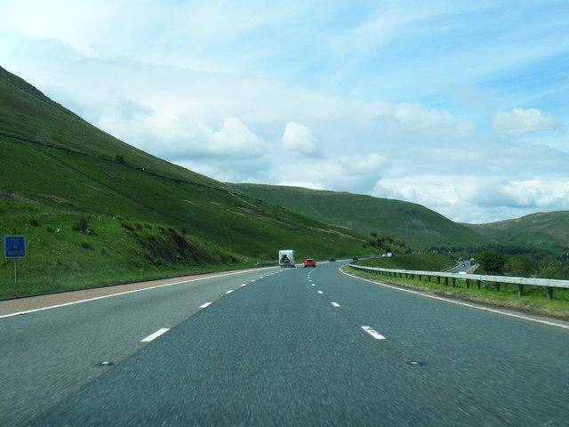 M6 north of Dillicar Common