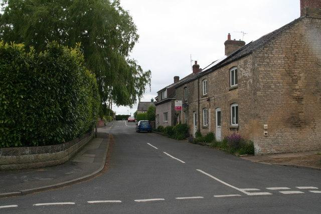Street in Cranwell village
