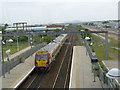 NT1871 : Edinburgh Park Station by Alan Murray-Rust