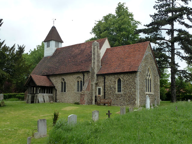 Norton Mandeville church