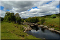 NH5790 : The River Carron by Donald H Bain
