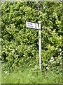 TM4683 : Roadsign on Green Lane by Adrian Cable