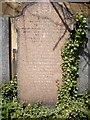 NT2673 : A Ford family gravestone in Canongate kirkyard by Stanley Howe