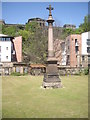NT2673 : A military memorial in a sector of Canongate kirkyard by Stanley Howe