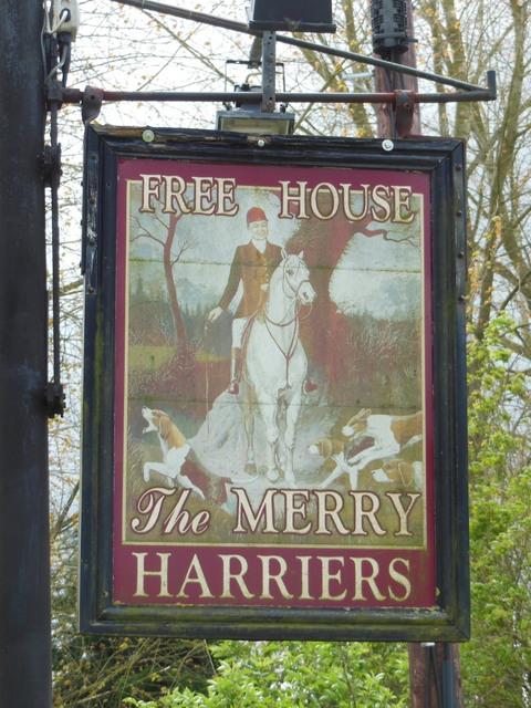 The Merry Harriers Inn, Westcott