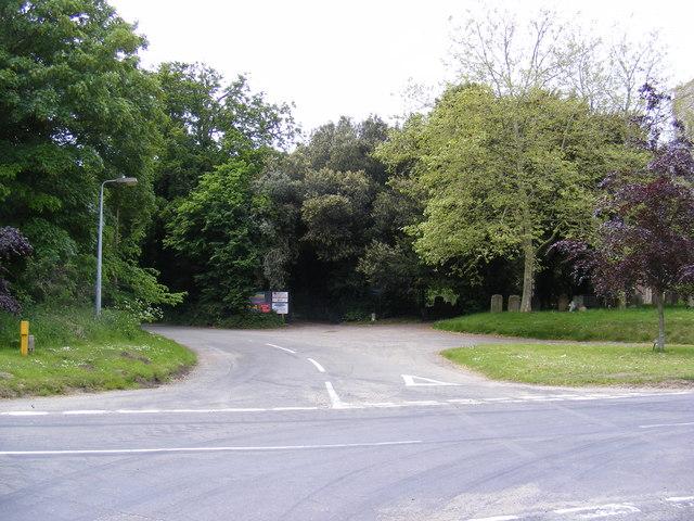 Falcon Inn Road at Church Corner