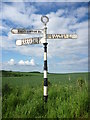 NT6073 : Rural East Lothian : ELCC Fingerpost at Redcliff, Whittingehame by Richard West