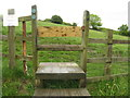 SK2796 : Stile at Cote House Farm by Dave Pickersgill