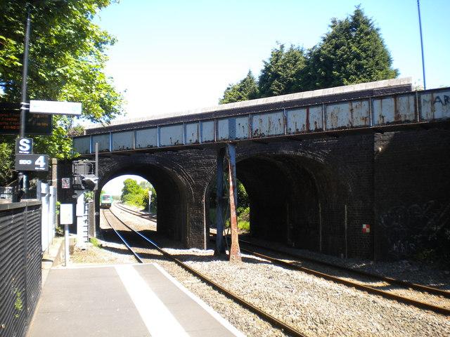 Broad Lane bridge north of Bloxwich North station