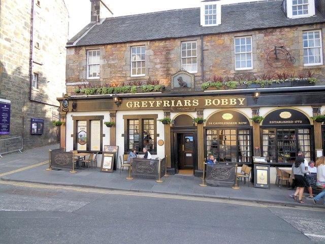 Greyfriars Bobby Bar, Edinburgh