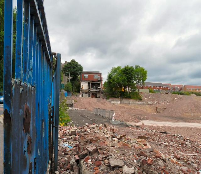 Demolition of Carrfield Mill