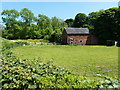 SJ8058 : Disused barn at Forge Farm by Richard Law