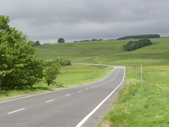 A696 at Monkridge
