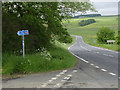 NY9191 : Sustrans route 68 by Alan Murray-Rust