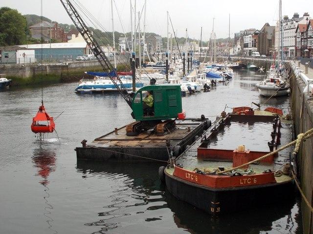 Dredging the inner harbour