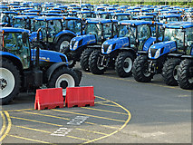 TQ7190 : New Holland Tractors by John Allan