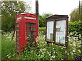 TL3251 : Telephone box on Ermine Street, Arrington by Ian S