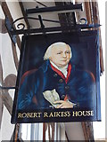 SO8318 : The Robert Raikes's House on Southgate Street by Ian S