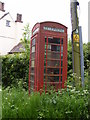 TM4585 : Telephone Box on Church Road by Adrian Cable