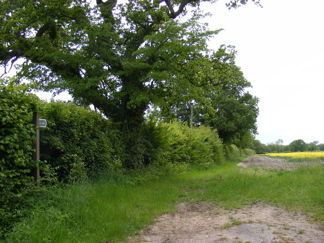 Footpath to Sotterley Road