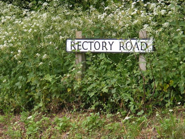 Rectory Road sign