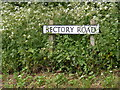 TM4585 : Rectory Road sign by Adrian Cable