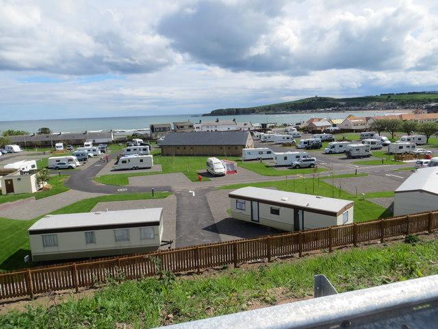 Queen Elizabeth Caravan site